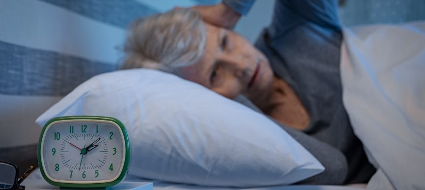 Добрият сън с напредване на възрастта