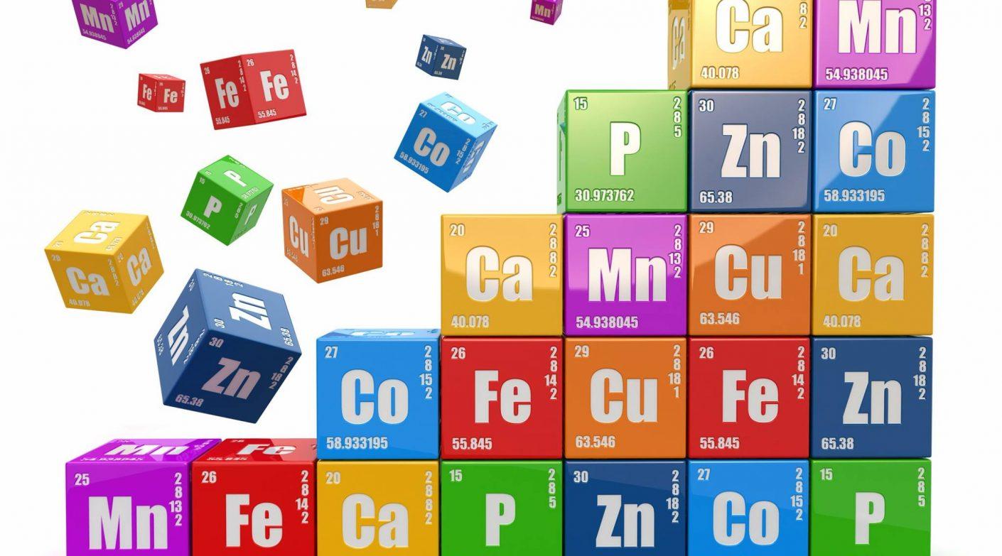 25-те химични елемента в човешкото тяло